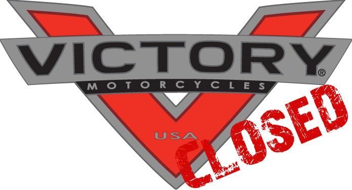 Motormerk Victory Motorcycles door eigenaar Polaris gesloten