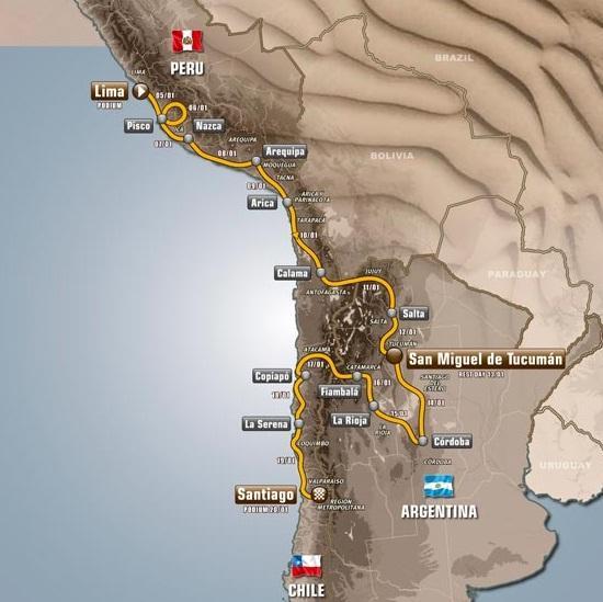 route_Dakar_2013