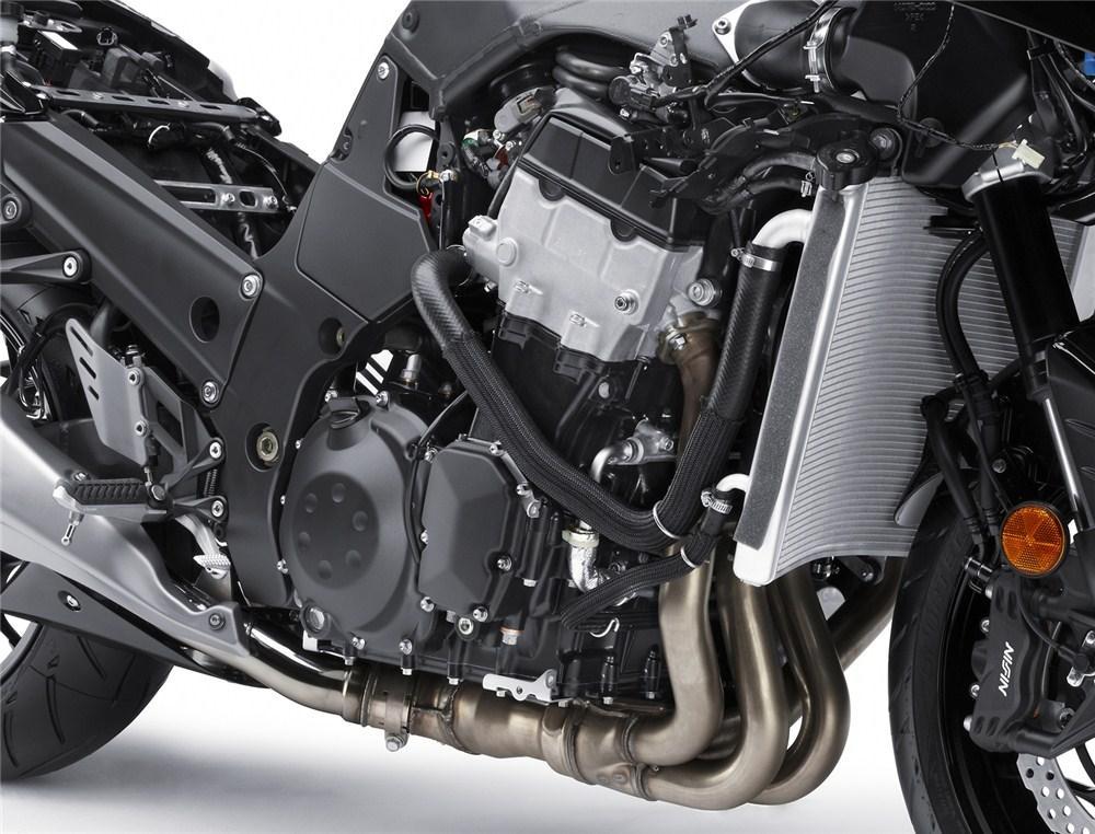 Officieel Bericht 2012 Kawasaki Zzr1400 Kort Snel En