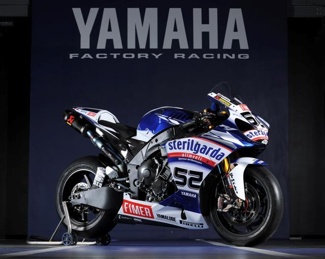 Yamaha WSB SBK, James Toseland, Sterilgarda