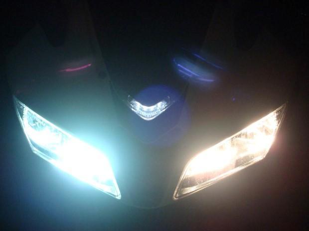 Xenon-verlichting motorrijders in sommige Europese landen verboden ...