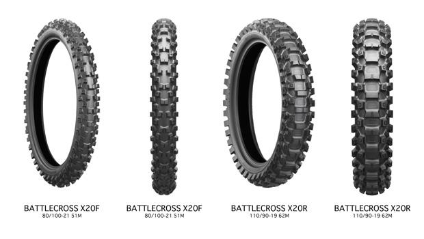 bridgestone battlecross X20 motorcross motorbanden