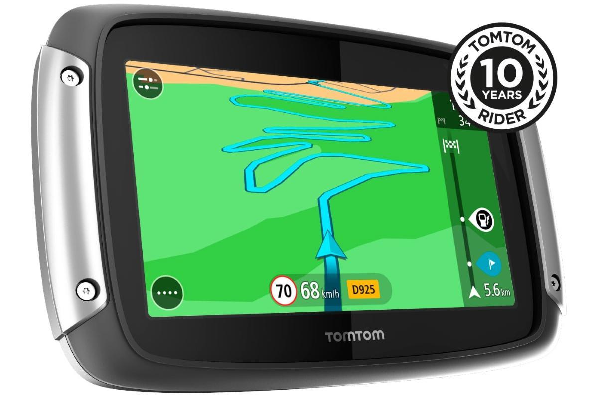 nieuw tomtom rider 410 navigatiesysteem voor motorrijders. Black Bedroom Furniture Sets. Home Design Ideas