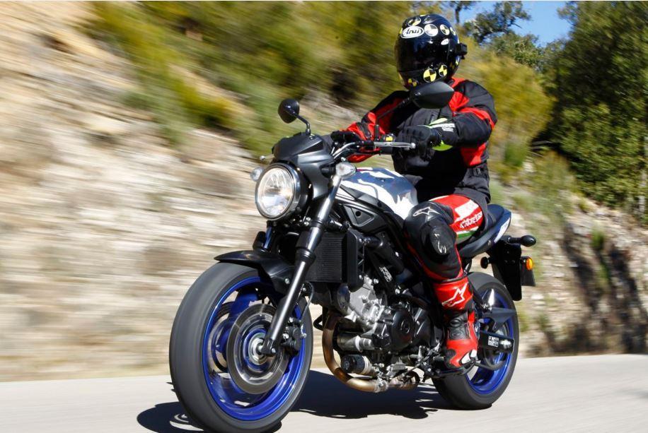 Testmotor Test 2016 Suzuki SV650