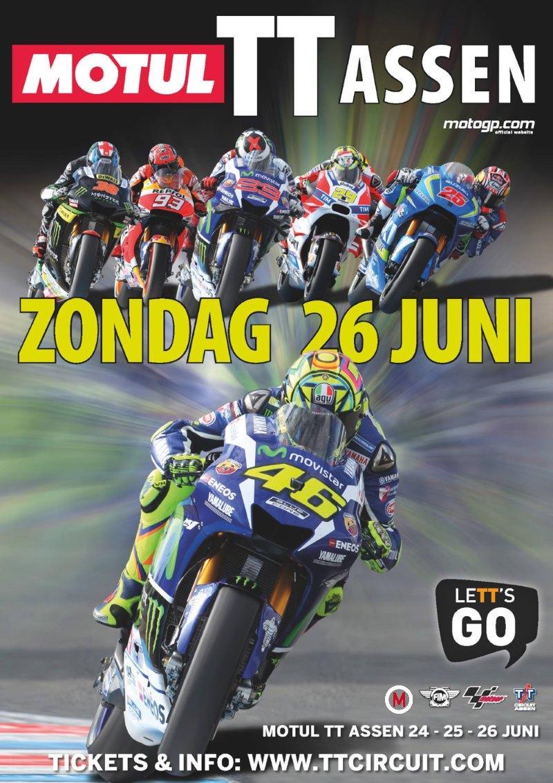 Tijdschema Dutch TT MotoGP Assen 2016 - Kort, snel en actueel altijd het allerlaatste ...