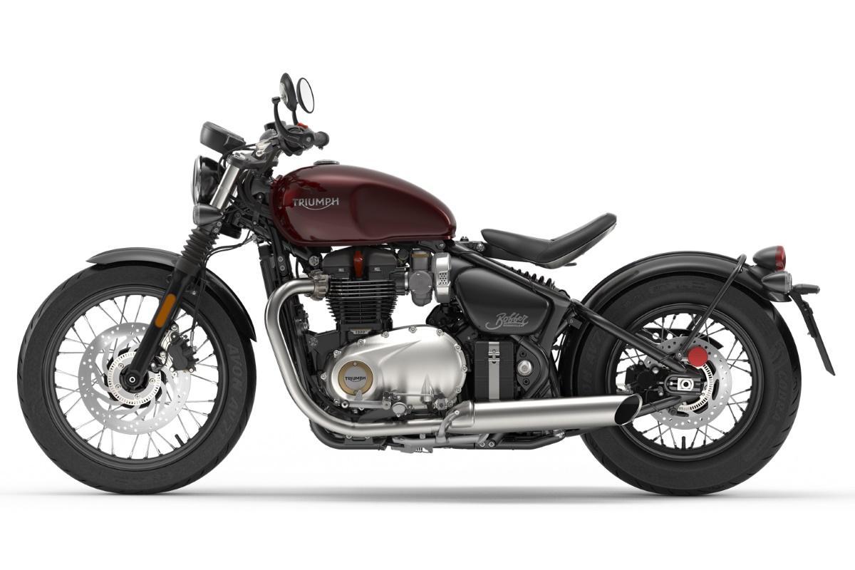 2017 Triumph Motorcycles Bonneville Bobber Kort Snel En