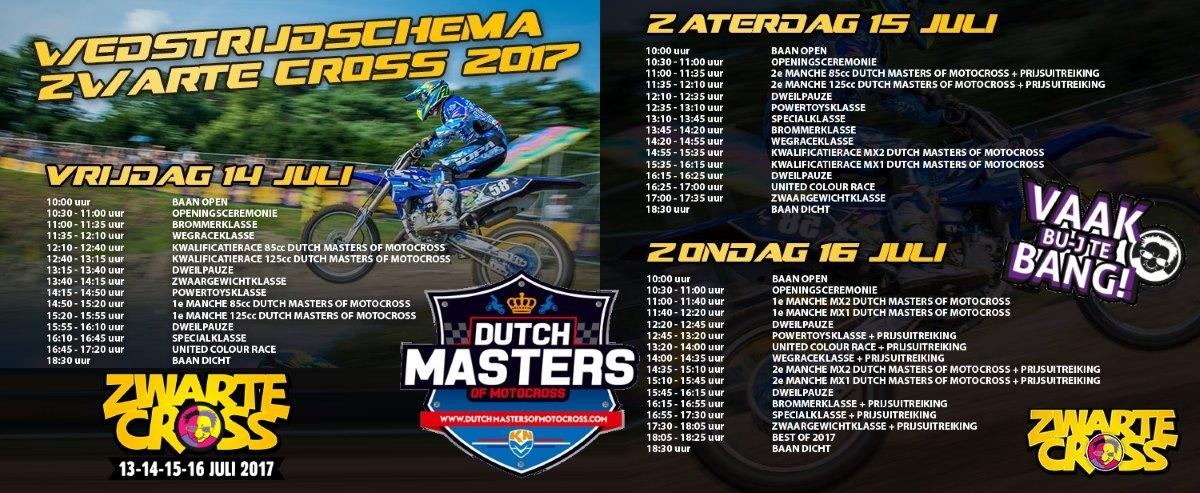 Dutch Masters Motorcross ZwarteCross 2017