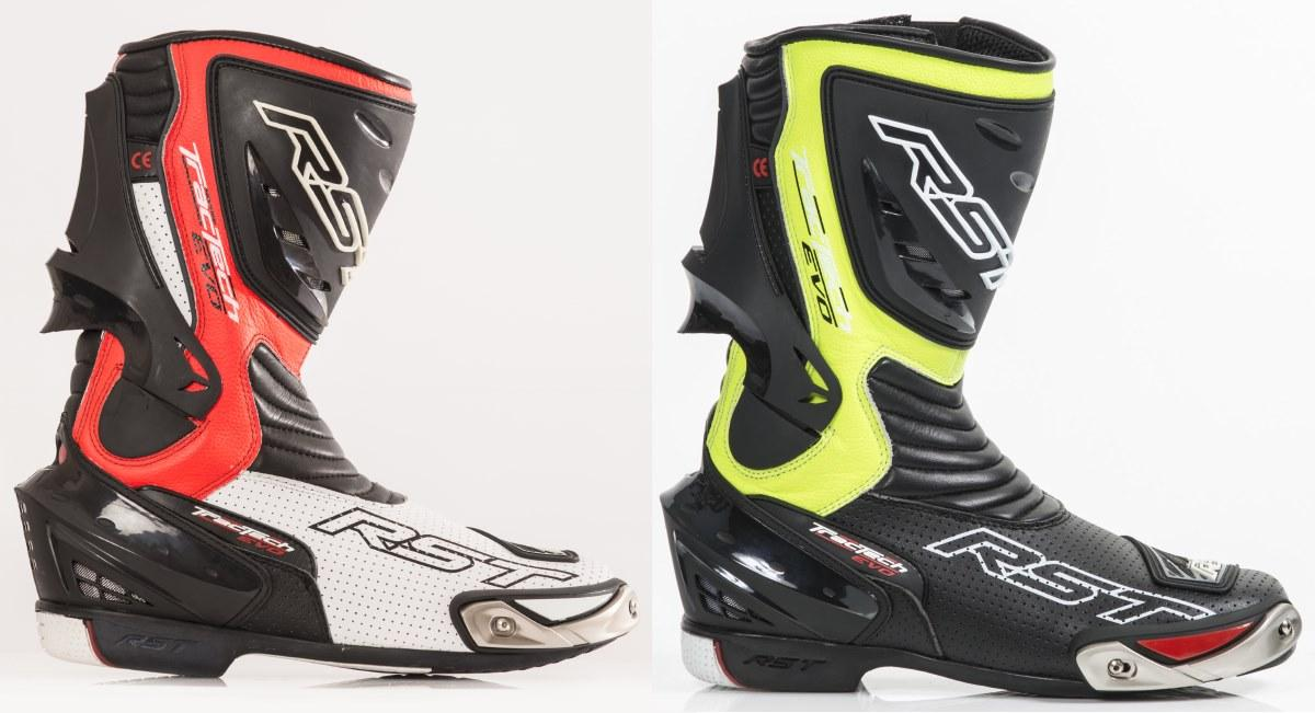 RST Tractech EVO motorlaars Flo red yellow