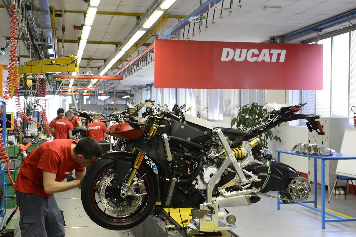 Ducati Bologna factory Ducati Press