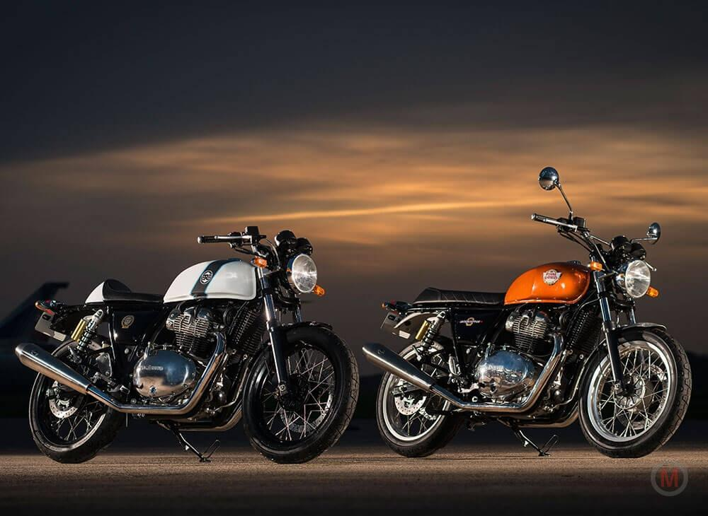 2018 Royal Enfield Twin Continental Interceptor