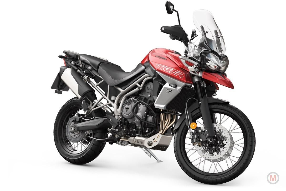 2018 Triumph Motorcycles Tiger 800 XCA FKorosi Red