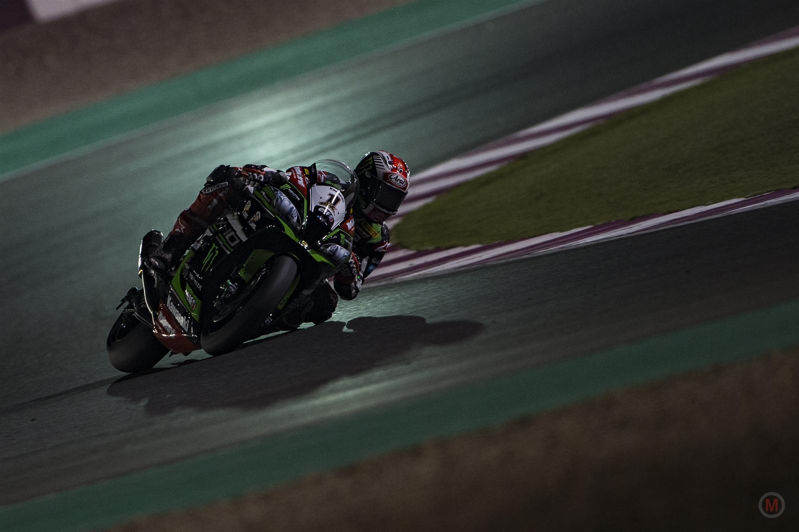 R13 Losail WorldSBK Race1 Rea Photo Kawasaki Racing Team