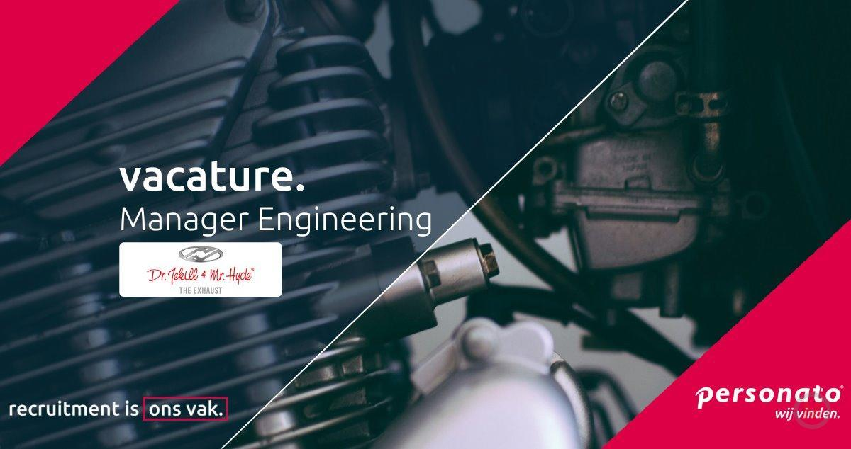 The Jekill and Hyde Company Engineering manager vacature
