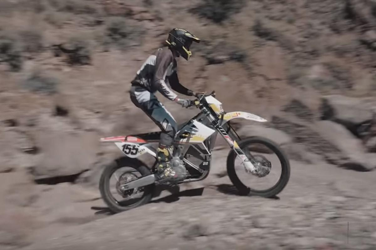 Alta Motors Redshift MXR ErzbergRodeo Ty Tremaine
