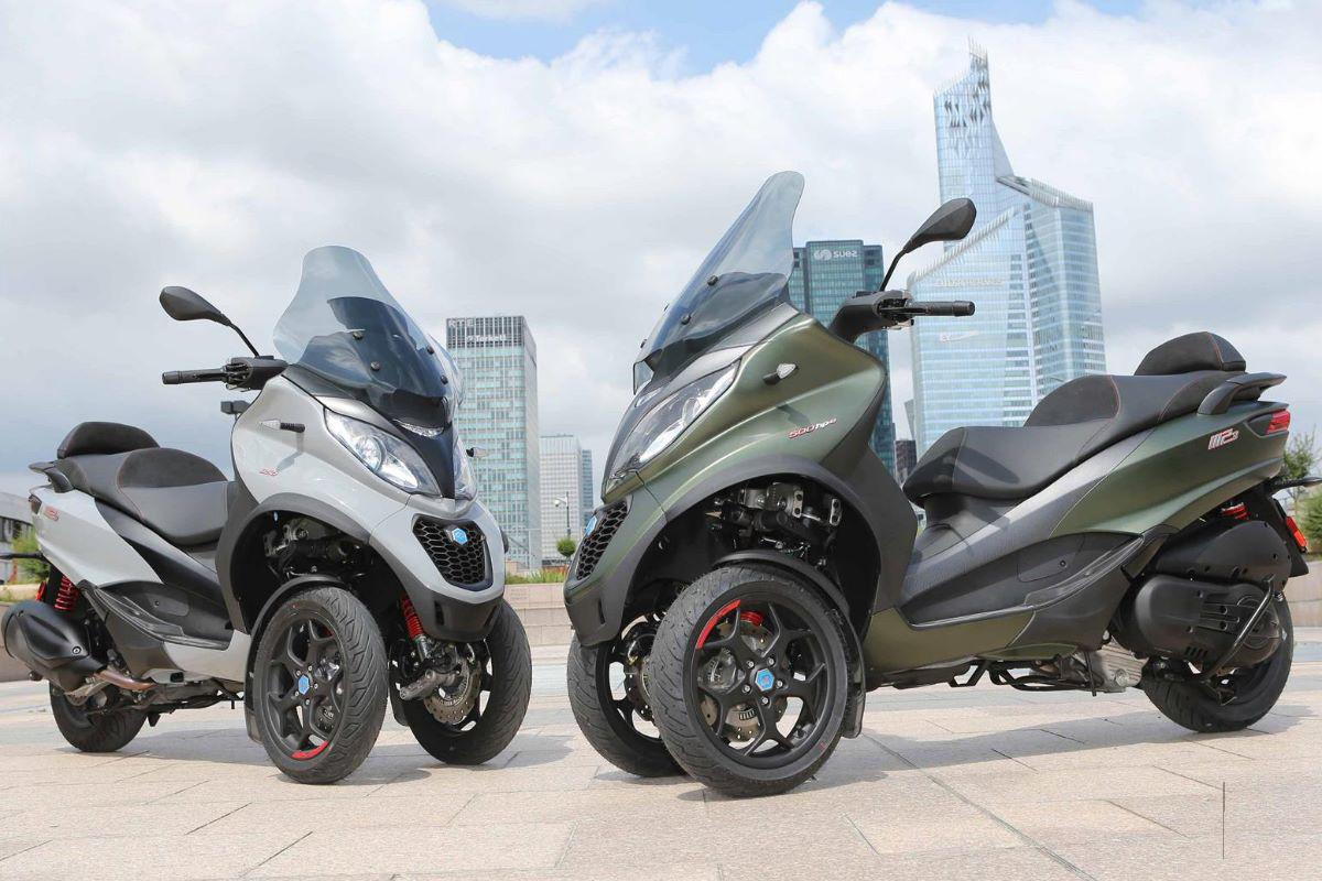 2019 Piaggio MP3 driewiel motorscooter