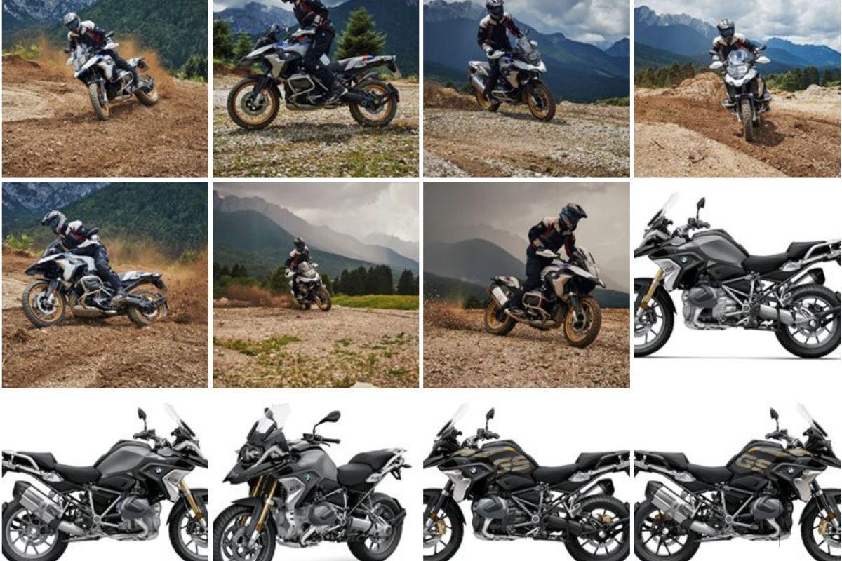 2019 BMW R1250GS R1250RT Mega gallerij