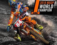 Jeffrey Herlings wereldkampioen MXGP motorcross 2018
