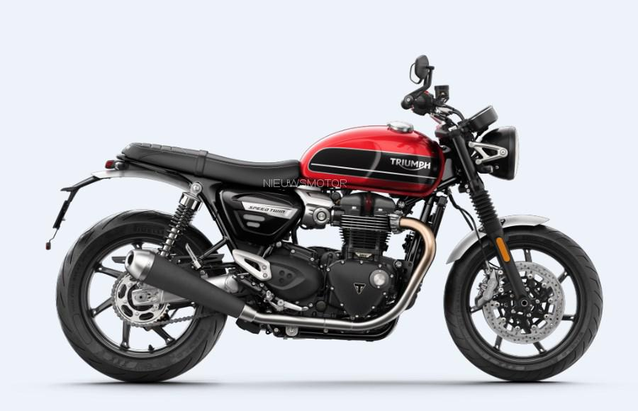 Alles Over De 2019 Triumph Speed Twin 1200 Kort Snel En