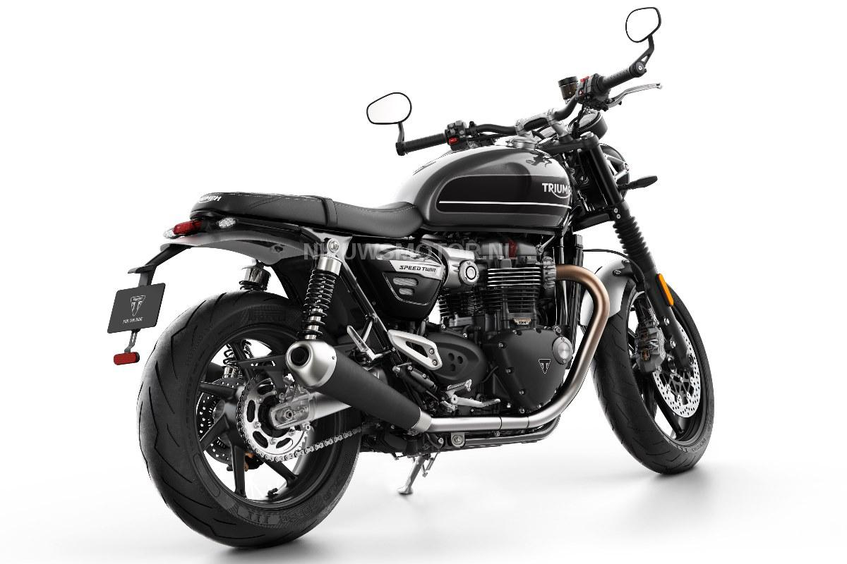 alles over de 2019 triumph speed twin 1200 kort snel en. Black Bedroom Furniture Sets. Home Design Ideas