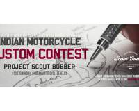 De Indian Motorcycle Custom Contest: 'Project Scout Bobber'