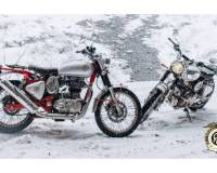 Nieuw: Royal Enfield Bullet Trial Works Replica
