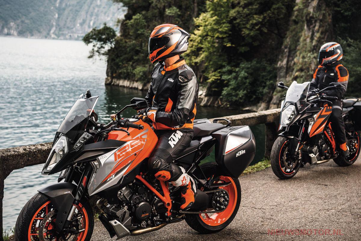 KTM 1290 Super Duke GT suspension upgrade