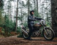 Nieuw: Royal Enfield Bullet 500 Trials Works Replica