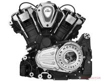 Indian Powerplus V-Twin motorblok: 121 PK en 178 Nm voor Challenger