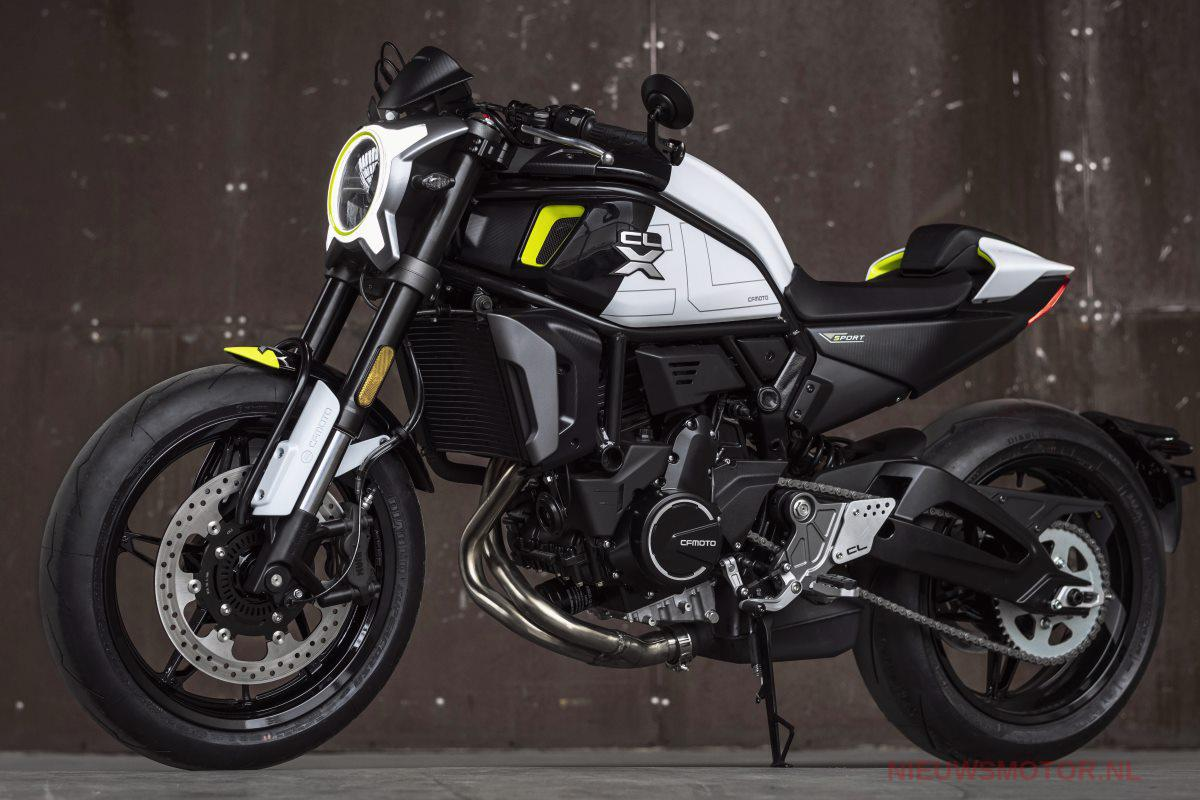 CF Moto 700 CLX Heritage, une vision Cafe Racer Chinoise