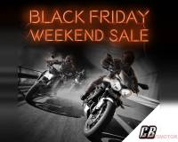 Black Friday Weekend Sale Bij ChromeBurner
