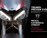 Triumph 2020 Preview Event: 8 december in Utrecht