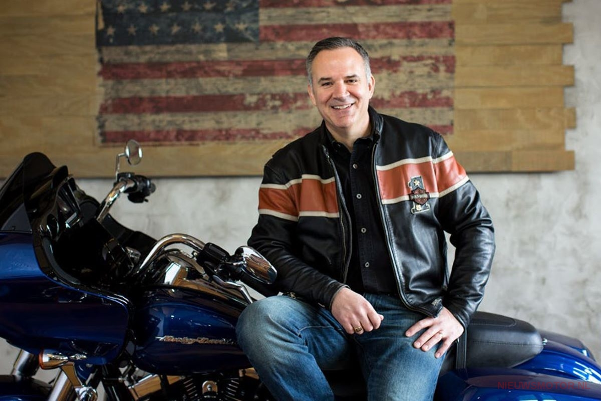 Harley Davidson CEO Matthew Levatich