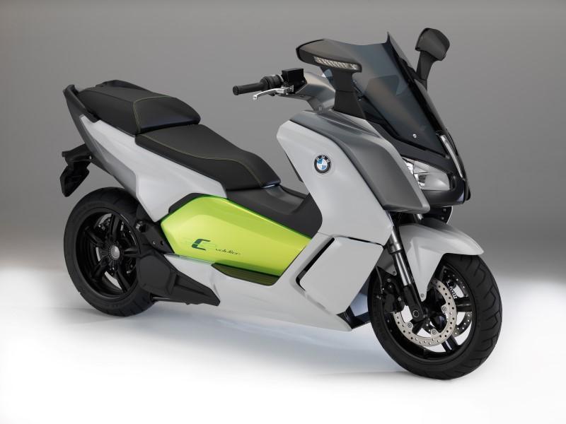 2014 BMW C Evolution elektrische motorscooter ...